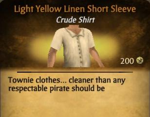 File:Light Yellow Linen Short Sleeve.jpg