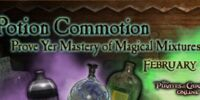 Potion Commotion Challenge