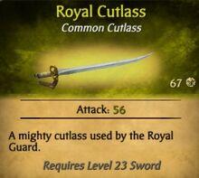 Royal Cutlass