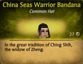 China Seas Warrior