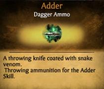 Adder info card