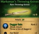Marksman's Throwing Knives