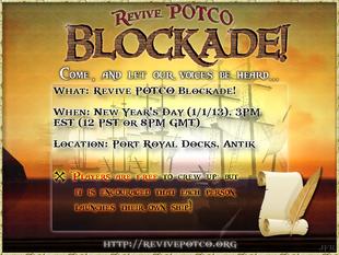 Revive potco blockade poster3