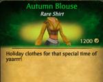 Autum Blouse