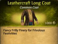 Leathercraft Long Coat