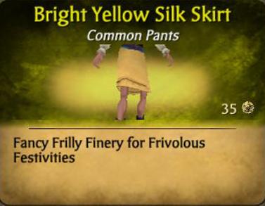 File:Bright yellow silk skirt.jpg