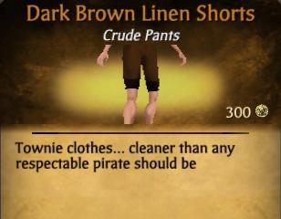 File:Dark Brown Linen Shorts.jpg