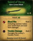 Sword of Decay