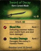 Sword of Decay