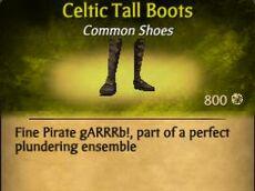 F Celtic Tall Boots