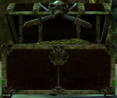 Loot skull chest