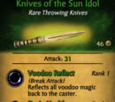 Knives of the Sun Idol
