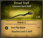 Dread Staff Card