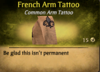French ArmTattoo