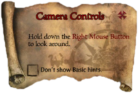 Scroll CameraControls