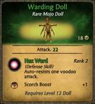 Warding Doll Card