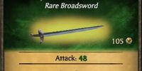 Tempered Broadsword