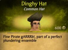 F Dingy Hat