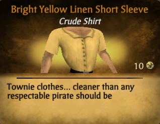 File:Bright yellow linen short sleeve.png