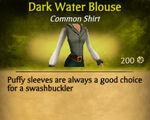 F Dark Water Blouse