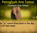 Petroglyph Arm Tattoo