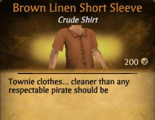 File:Brown Linen Short Sleeve.jpg
