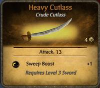 Heavy Cutlass 2011-01-07