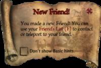 Scroll NewFriend