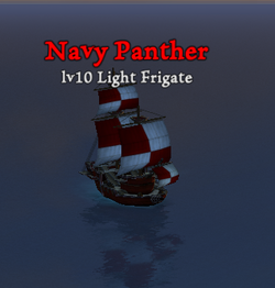 Navy Panther clearer