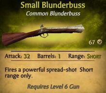 Small Blunderbuss