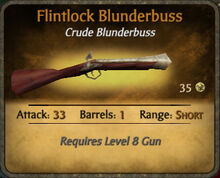 Flintlock Blunderbuss 2010-11-23