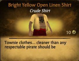 File:Bright Yellow Open Linen Shirt.jpg