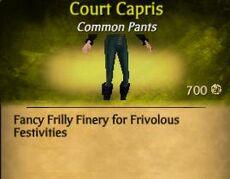 Court Capris