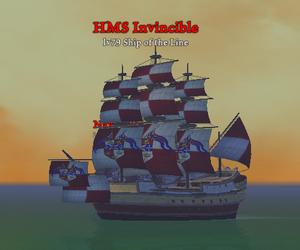 HMS Invincible clearer