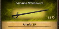 Worn Broadsword
