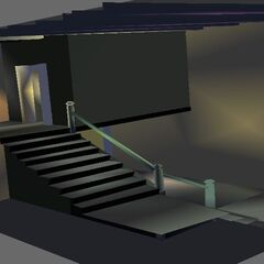 Clearer View Of stairs for better identification