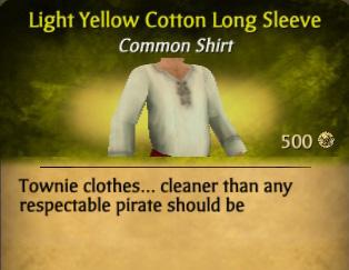 File:Light Yellow Cotton Long Sleeve.jpg