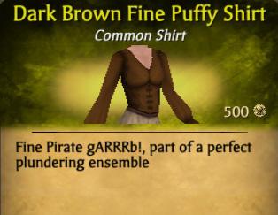 File:Dark Brown Fine Puffy Shirt.jpg