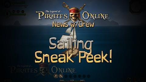 TLOPO News w Drew Sailing Sneak Peek! (Screenshot)