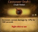Cannoneer draft better