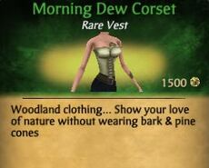F Morning Dew Corset