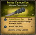 Bronze Cannon Ram 2010-11-26