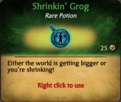 Shrinkin' Grog