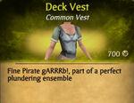 Deck Vest
