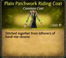 Patchwork Riding Coat