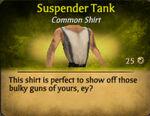 Suspender Tank