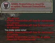 Maintenance warning (yet i logged in) - 12-14-11