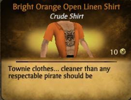 File:Bright Orange Open Linen Shirt.jpg