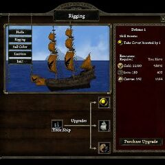 Rigging defense level 1 on War Brig