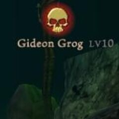 Gideon Grog commands his underlings and prepares for war on a main island.